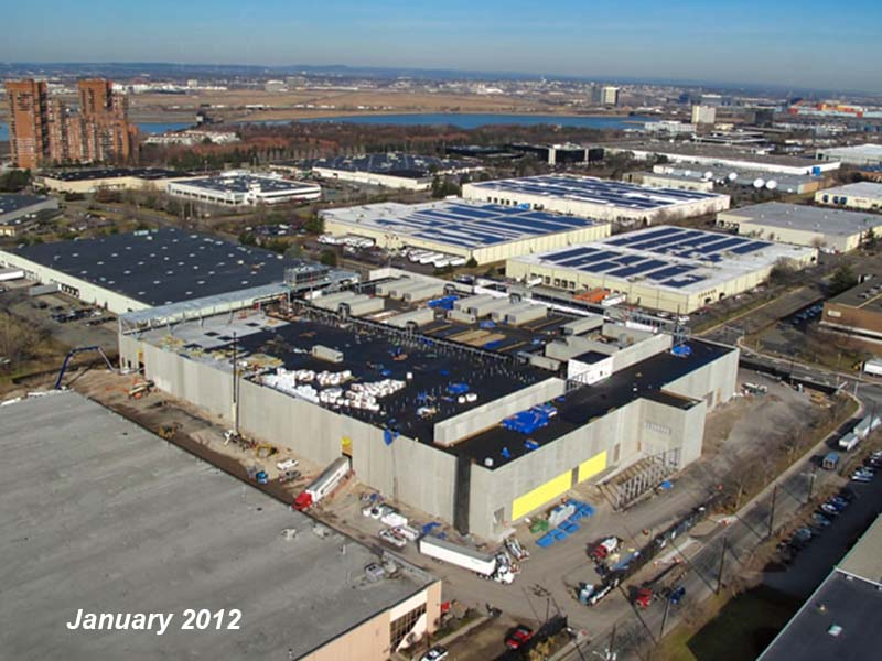 Before: NY5 data center under construction by general contractor J.T. Magen & Company Inc. in Secaucus, New Jersey.
