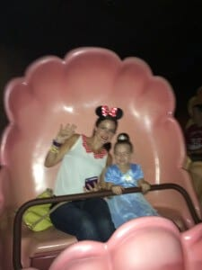 Disney World. My migraine