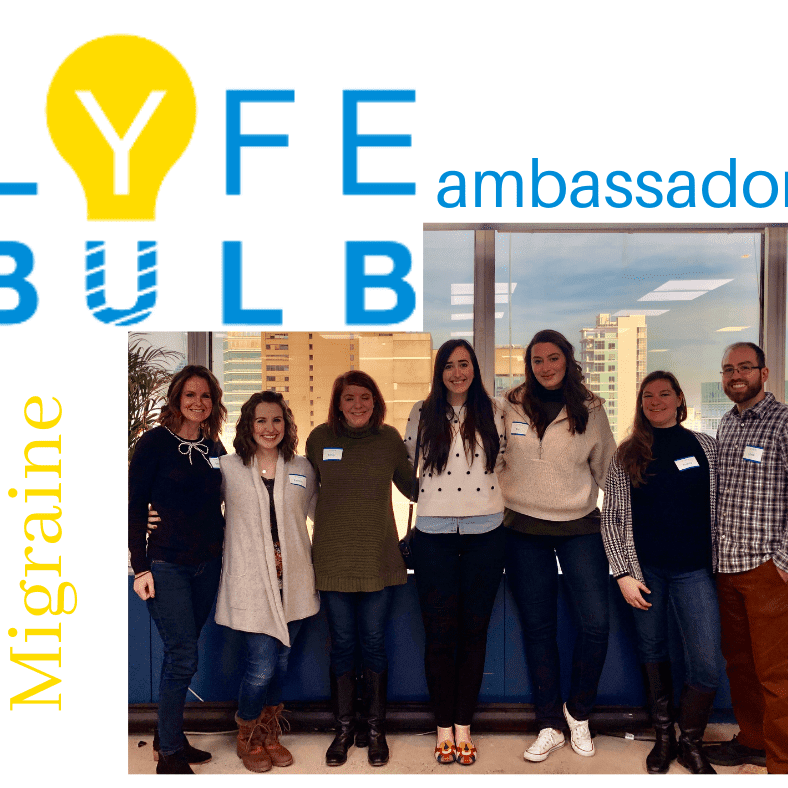 migraine lyfebulb ambassadors patients like me