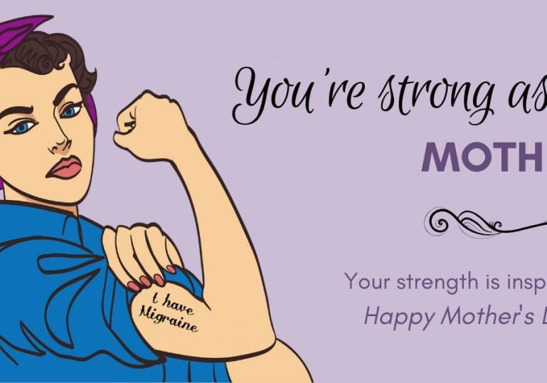 You're strong as a mother. You strength is inspiring. Happy Mother's Day.